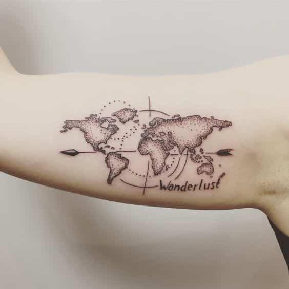 90 Tatuajes De Brujulas Para Hombres Y Mujeres Disenos Y Significados
