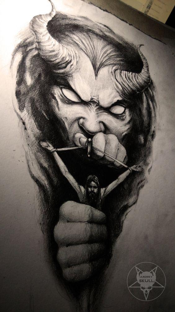 Tatuajes de demonio diseño