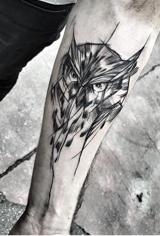 Tatuajes para hombres buho