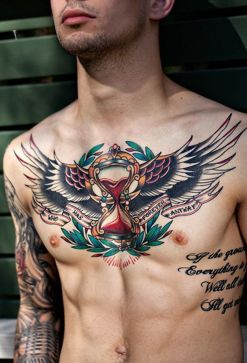 diseños para tatuar en el pecho en hombres 4 - +80 Tatuajes para hombres ideas y diseños populares en 2018