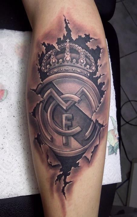 Tatuajes de fútbol hombres