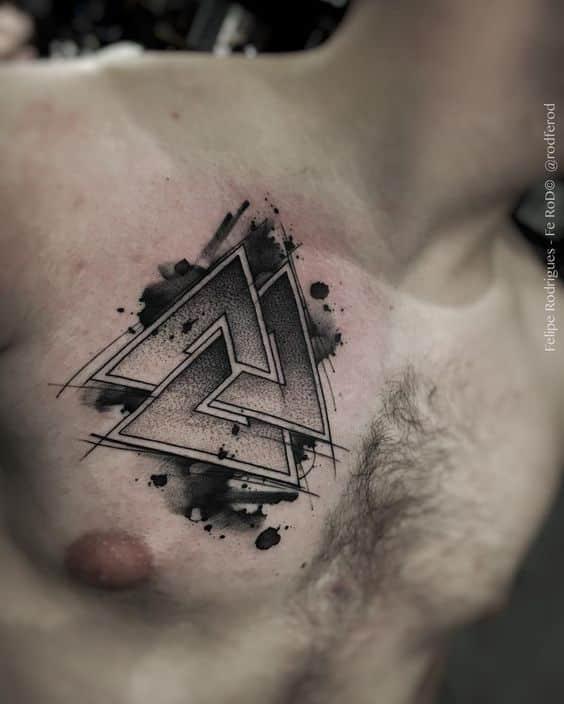 Tatuajes para hombres pecho
