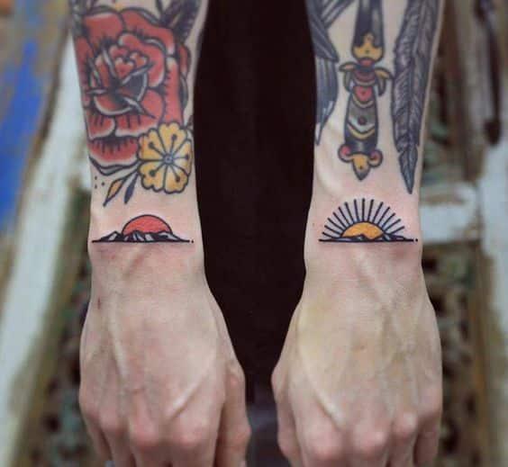 tattoos en la muñeca 6 - +80 Tatuajes para hombres ideas y diseños populares en 2018