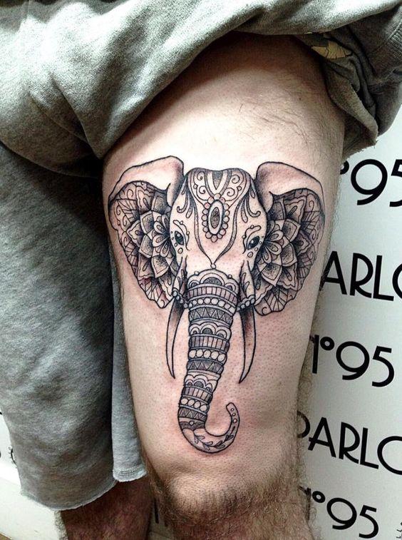 Tatuaje De Mandala Tatuado (3)