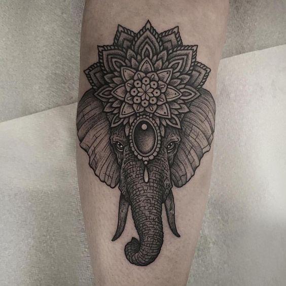 Tatuaje De Mandala Tatuado (4)