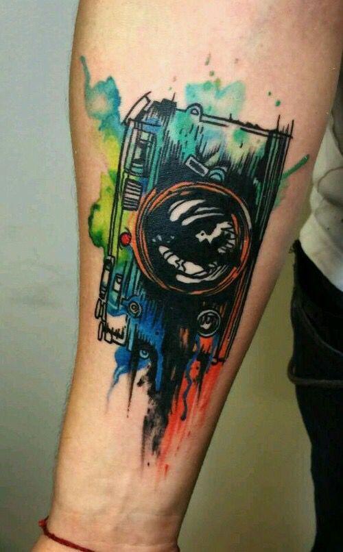 Tatuajes para hombres color