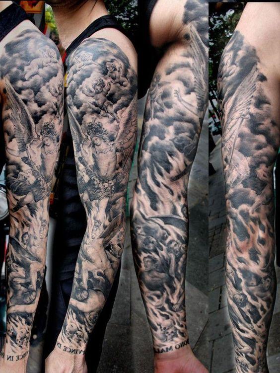 60 tatuajes de demonios dise os impresionantes que te encantaran. Black Bedroom Furniture Sets. Home Design Ideas
