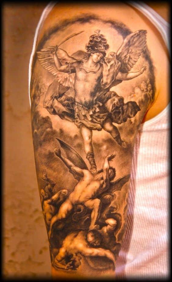 Tatuajes De Demonios Diseños Realistas Con Detalles Geniales