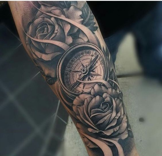 90 tatuajes de br julas para hombres y mujeres dise os y for Bussola tattoo significato