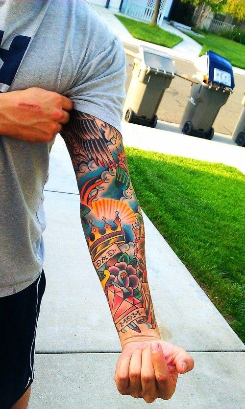 tatuajes de coronas para hombre 2 - +80 Tatuajes para hombres ideas y diseños populares en 2018