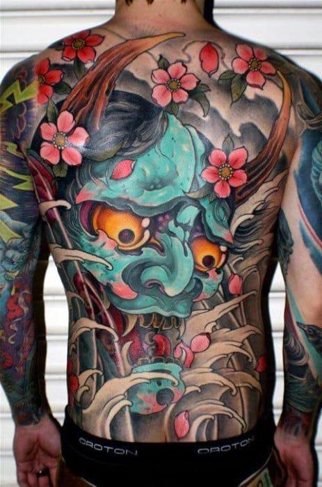 Tatuajes de demonio oni