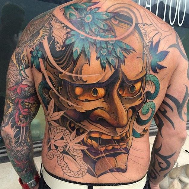 Tatuajes de demonio japones