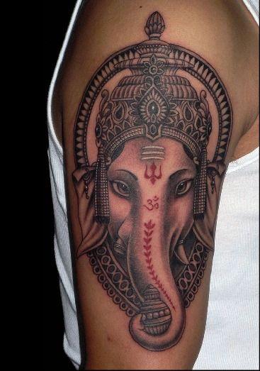 Tatuajes De Elefante Hindu (2)