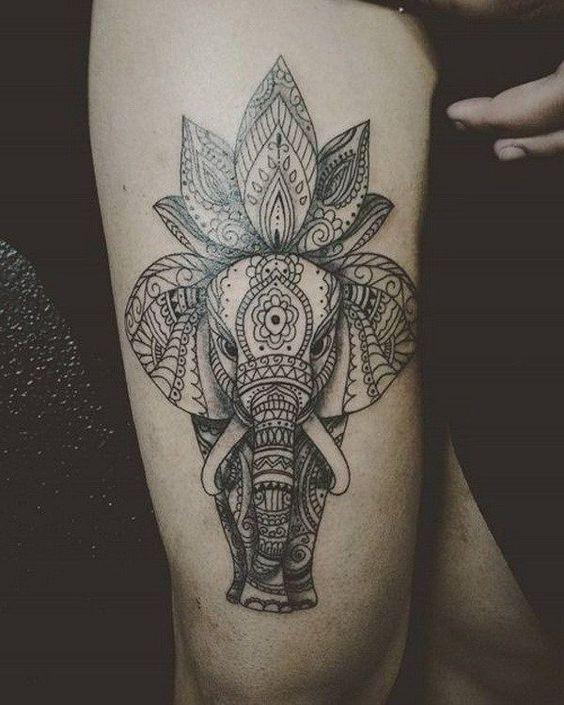 Tatuajes De Elefante Hindu (3)