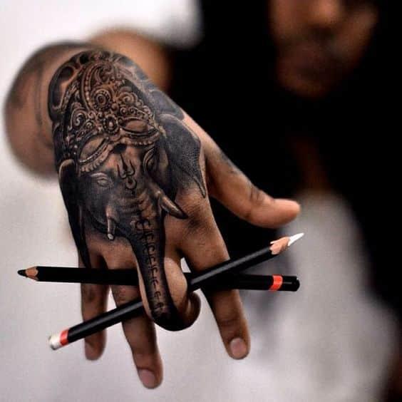 Tatuajes De Elefante Hindu (4)