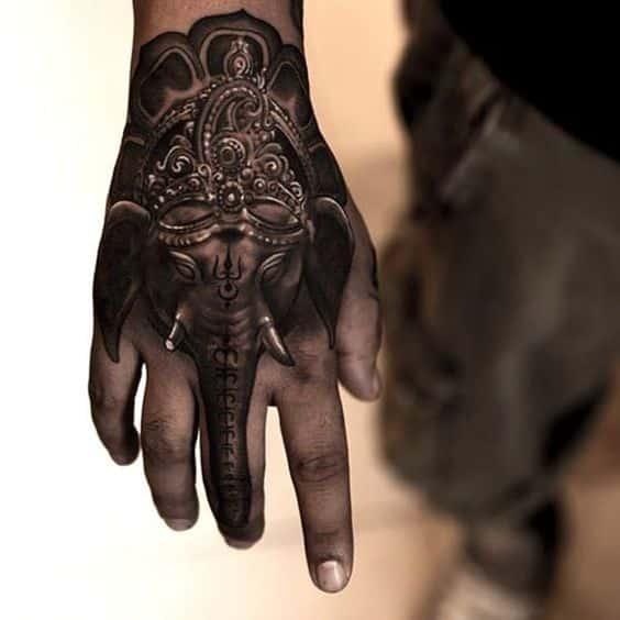 Tatuajes De Elefante Hindu (5)