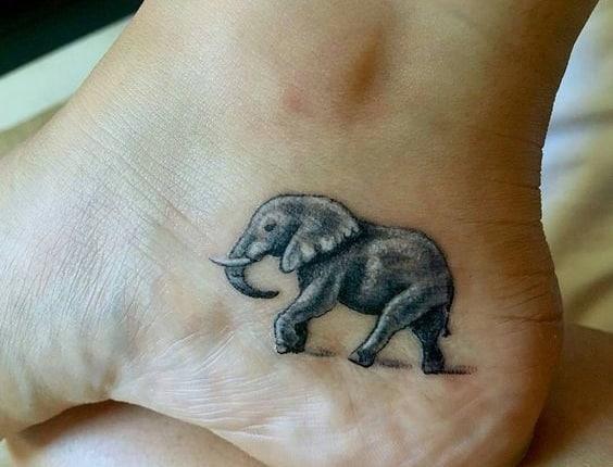 tatuajes de elefantes para mujeres 3 - +40 Tatuajes de elefantes, significados - diseños en hombres y mujeres