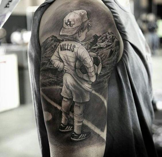 Tatuajes de fútbol geniales