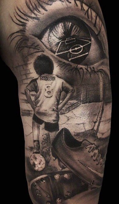 tatuajes de ftbol para las mujeres - Tatuajes Frases Hombres