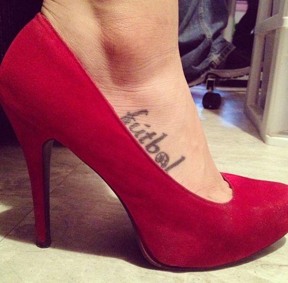 Tatuajes de fútbol mujeres