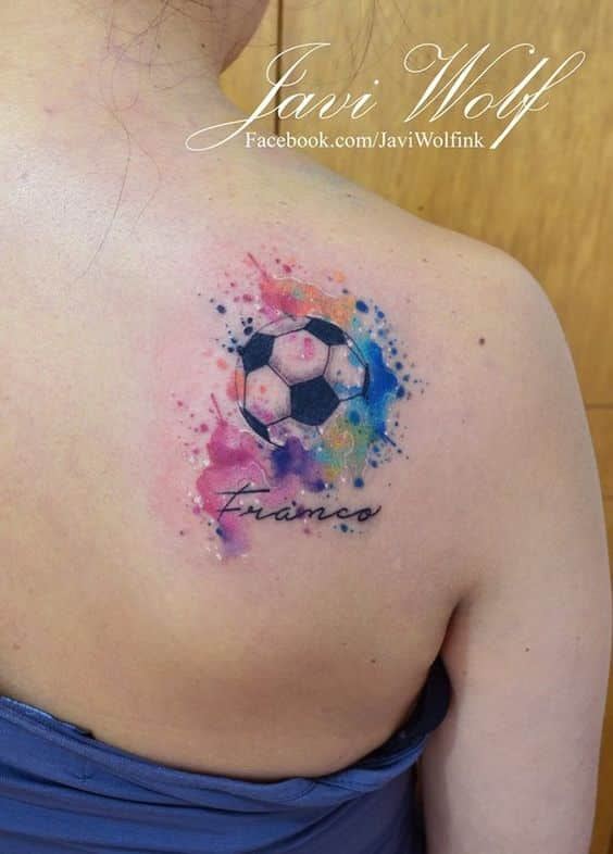 40 Tatuajes De Futbol Frases Y Diseños Para Hombres Y Mujeres