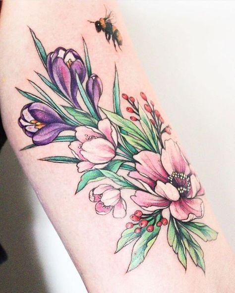 tatuajes delicados en las piernas 7 - 80 Tatuajes en las piernas para hombres y mujeres, tribales, delicados...