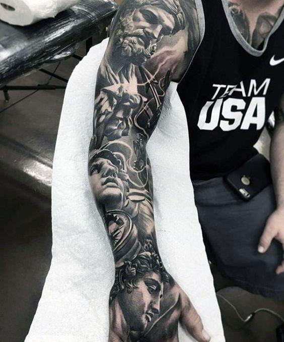 Tatuajes Para Hombres Ideas Y Grandes Disenos Que Son Tendencia - Tattoo-brazo-hombre
