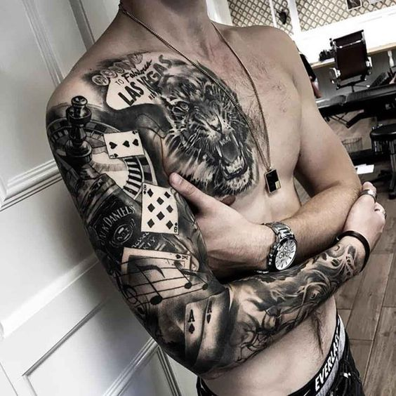 Tatuajes Para Hombres Ideas Y Grandes Disenos Que Son Tendencia