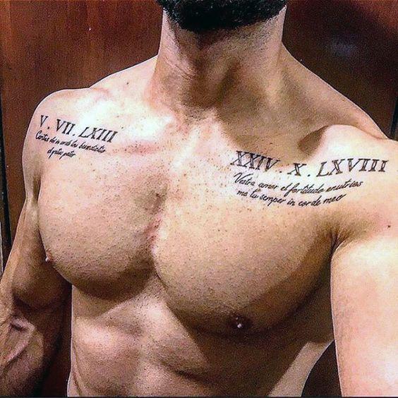 tatuajes en el pecho para hombres 1 - +80 Tatuajes para hombres ideas y diseños populares en 2018