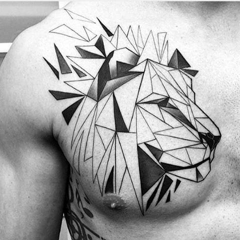 tatuajes en el pecho para hombres 6 - +80 Tatuajes para hombres ideas y diseños populares en 2018