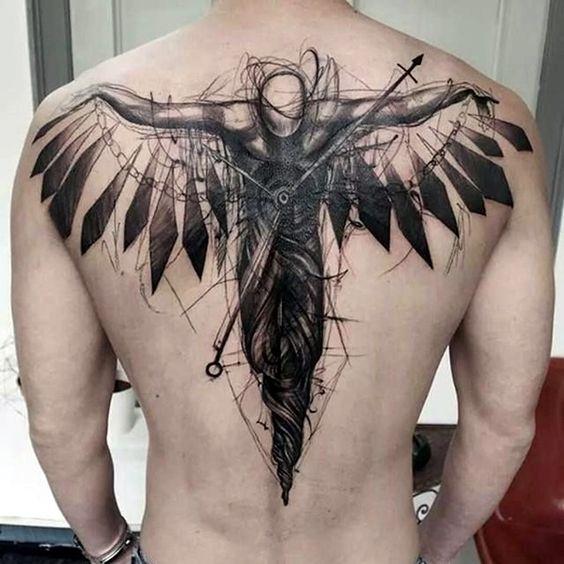 tatuajes en la espalda para hombres 1 - +80 Tatuajes para hombres ideas y diseños populares en 2018
