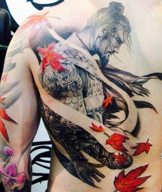 tatuajes en la espalda para hombres 4 - +80 Tatuajes para hombres ideas y diseños populares en 2018
