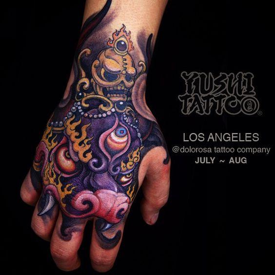 tatuajes en la mano para hombres 1 1 - Tatuajes en la mano diseños para hombres y mujeres con significado