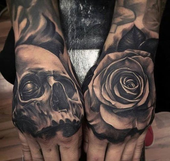 tatuajes en la mano para hombres 2 - +80 Tatuajes para hombres ideas y diseños populares en 2018