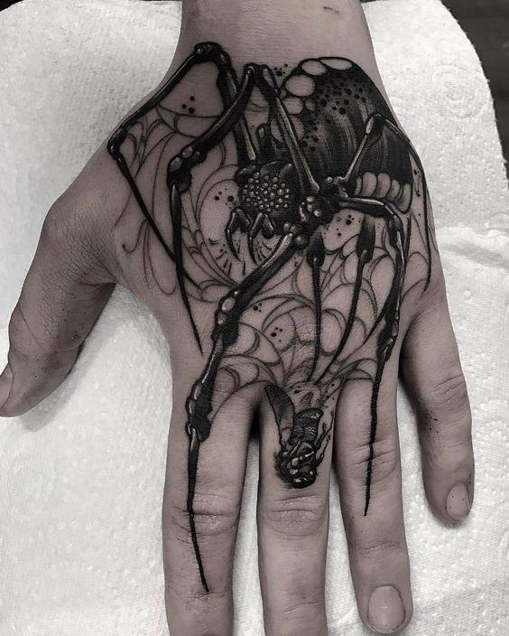 tatuajes en la mano para hombres 7 - +80 Tatuajes para hombres ideas y diseños populares en 2018