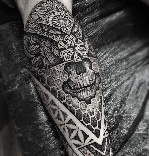tatuajes en las piernas para hombres 5 1 - 80 Tatuajes en las piernas para hombres y mujeres, tribales, delicados...