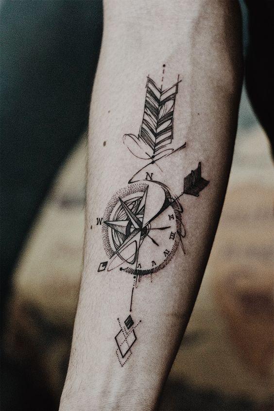 80 tatuajes para hombres ideas y dise os populares en - Tatuajes de pared ...