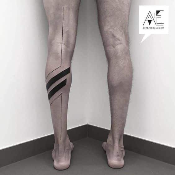 tatuajes para realizar en las piernas en hombres 10 - +80 Tatuajes para hombres ideas y diseños populares en 2018