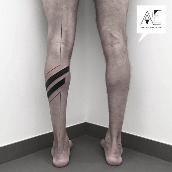 tatuajes para realizar en las piernas en hombres 9 - +80 Tatuajes para hombres ideas y diseños populares en 2018