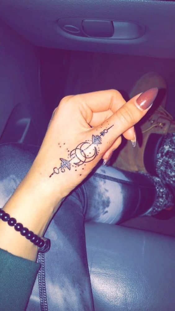 tatuajes pequeños en la mano 6 - Tatuajes en la mano diseños para hombres y mujeres con significado