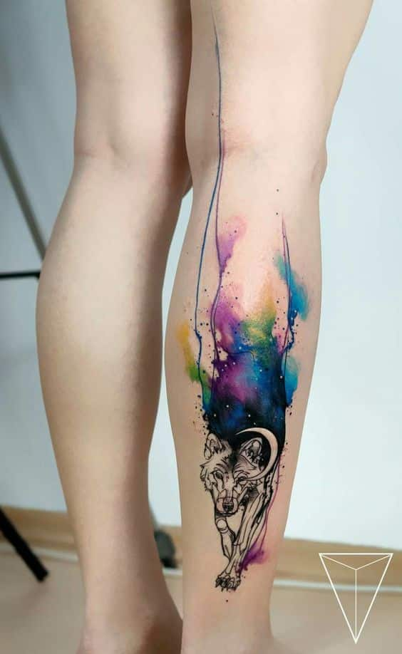 tatuajes en las piernas chicas
