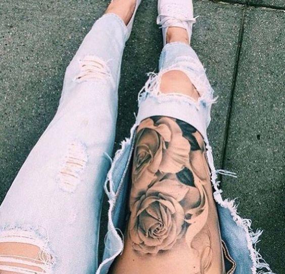 tatuajes en las piernas mujeres