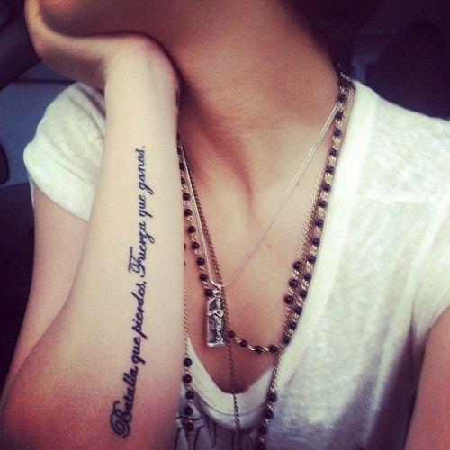 Frases Cortas Tatuajes En Español (9)