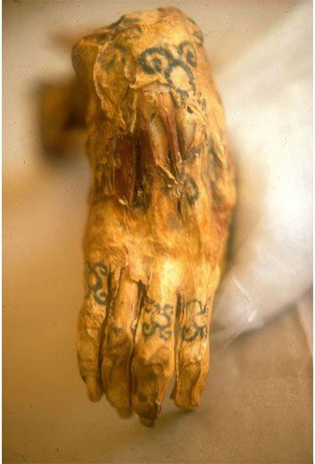Tatuaje En Momia
