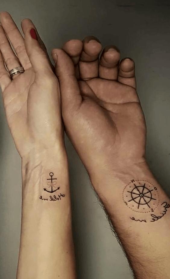 Tatuajes Para Parejas En La Espalda Tatuajes