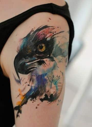 Tatuajes De 193 Guilas Sus Significados Y Dise 241 Os Imponentes