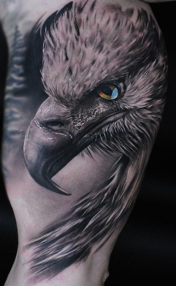 Hombre Tatuaje De Aves (1)