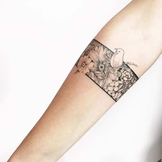 Tatuaje De Aves En El Brazo (3)