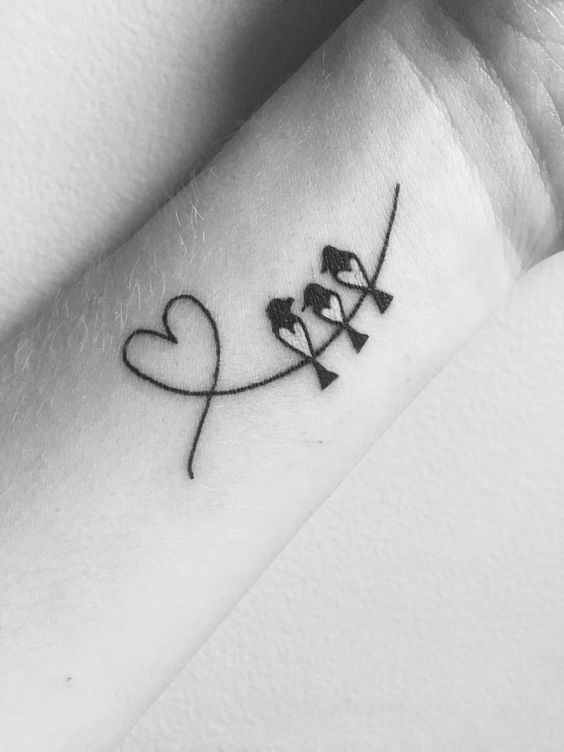 Tatuaje De Aves En El Brazo (4)