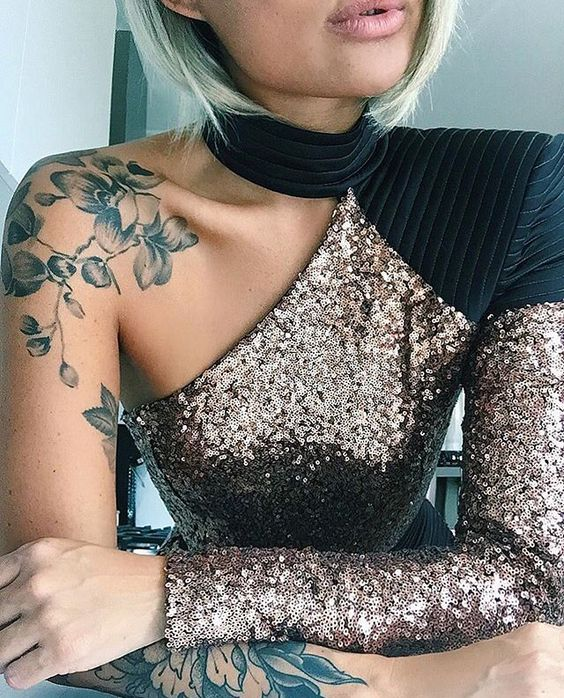 Tatuaje Para El Hombbro Mujer (3)